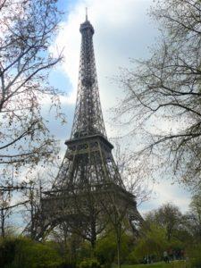 Paris Eiffelturm bearbeitet klein