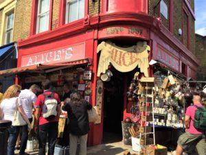 London kostenlos Portobello Road Market bearbeitet klein