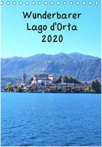 Meine Calvendo-Kalender Wunderbarer Lago d'Orta NEU