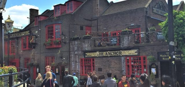 The Anchor Pub London: Wo einst William Shakespeare becherte