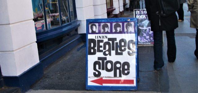 Beatles-Store London: Sehenswert, aber nicht ganz günstig