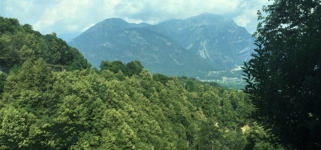 Eine Fahrt mit der Centovalli-Bahn: Von Domodossola nach Locarno