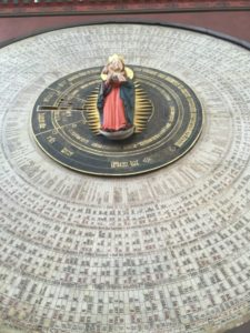 Danzig Marienkirche Astronomische Uhr
