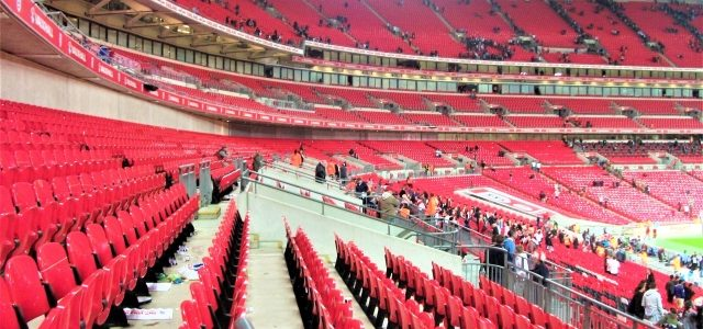 Mein erstes Mal in London: Am Anfang war Wembley
