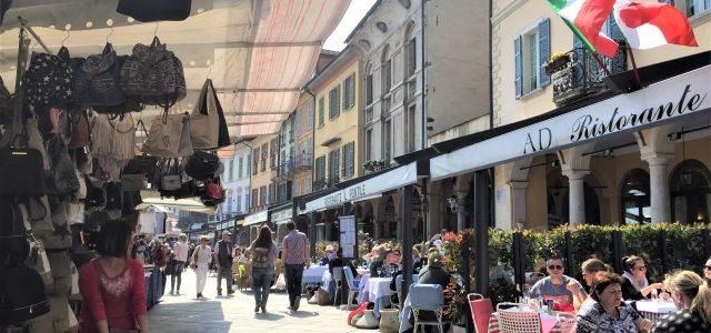 Sonntagsmarkt in Cannobio: Ein Muss am Lago Maggiore