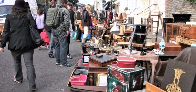 Klassiker in Notting Hill: Portobello Market London