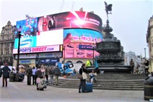 Enttäuschungen in London Piccadilly Circus klein