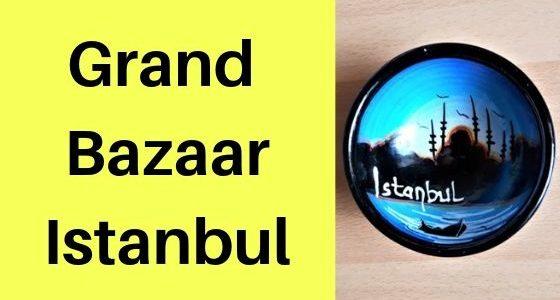 Grand Bazaar Istanbul: Feilschen und Fragezeichen auf dem Großen Basar