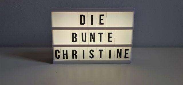 """Bloggeburtstag: 4 Jahre """"Die bunte Christine"""""""