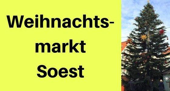 Weihnachtsmarkt Soest: Glühwein in traumhafter Fachwerkkulisse