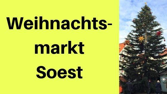 Weihnachtsmarkt Soest Gluhwein In Traumhafter