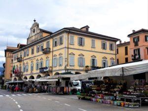 Lago Maggiore Markt in Pallanza Bild 5 bearbeitet klein