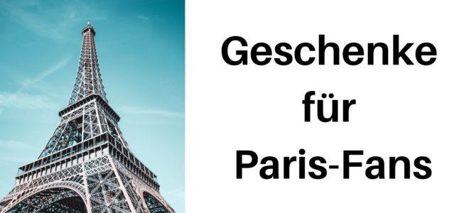 Geburtstag, Weihnachten und Co.: Geschenke für Paris-Fans