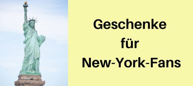 Geburtstag, Weihnachten und Co.: Geschenke für New-York-Fans