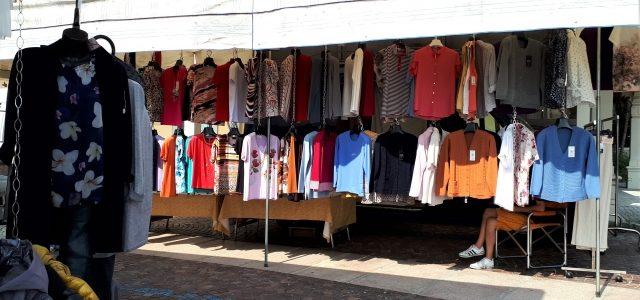Donnerstags am Lago Maggiore: Der Markt in Feriolo